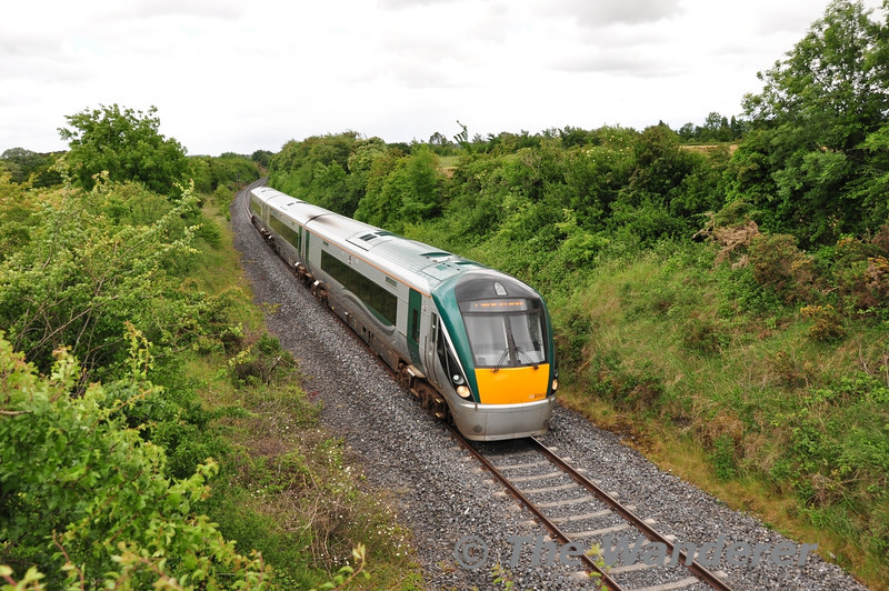 22051 at Ashfield with the 1445 Heuston - Westport. Sat 22.06.13