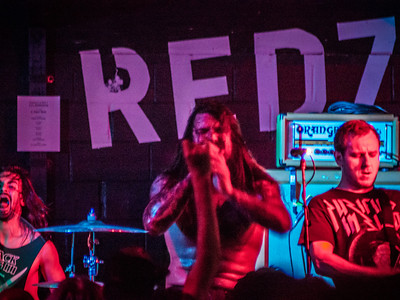 Kvelertak at Red 7 - 7th Street Austin 5/13/13