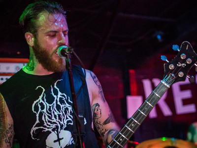 Cancer Bats at Red 7 - 7th Street Austin 5/13/13