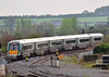 22035 arrives at Portarlington with the 0830 Heuston - Portlaoise. Mon 06.05.13