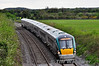 22037 passes Deerpark as it slows for its Portarlington stop with the 1620 Limerick - Heuston. Sun 05.05.13