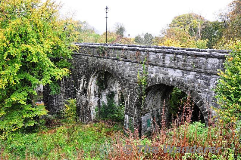 The Great Western Greenway in Westport. Viaduct in Westport. Sat 02.11.13