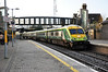 4004 passes Portarlington in charge of the 1320 Cork - Heuston. Wed 20.11.13