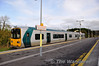 2811 + 2812 at Manulla Jct with the 1532 to Ballina. Fri 01.11.13