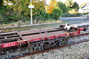 Bogie and end detail of Flat Wagon 30252 at Roscommon. Fri 01.11.13