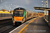 22011 arrives at Portarlington with the 1445 Heuston - Westport. Wed 20.11.13