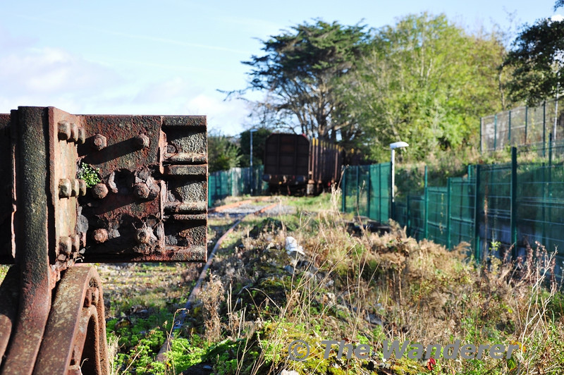 End of the Line on the Westport Quay Branch. Sun 04.11.13