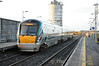 22011 departs from Tullamore with the 1445 Heuston - Westport. Wed 20.11.13