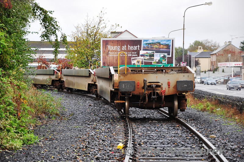 The CPW's stabled at Ballina on the Crossmolina Siding. Sat 03.11.13