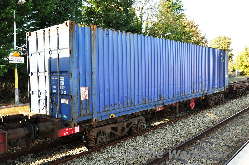 Flat Wagon 30271 at Roscommon. Fri 01.11.13