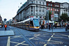3003 + 3017 proceed at caution over O'Connell Street as they leave Abbey Street bound for Red Cow Depot. Tues 19.11.13