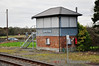 Banteer Signal Cabin, which closed in March 2005 has now, sadly, has had its windows boarded up. Sat 23.11.13