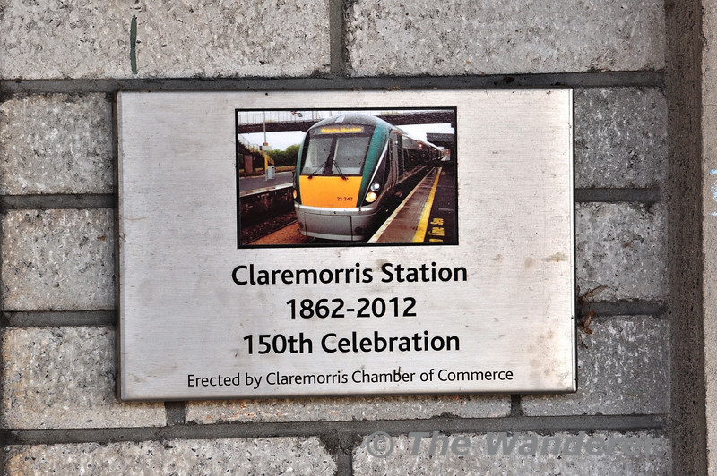 Claremorris 150 Plaque. Fri 01.11.13