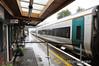 The stock for the 1310 Westport - Heuston awaits its passengers in Westport. Sat 02.11.13