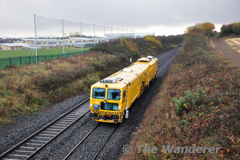Tamper 751 passes Ratheven on the outskirts of Portlaoise. Thurs 28.11.13