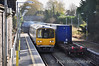 2812 + 2811 passes Roscommon with the late running 0820 Galway - Ballina DMU Transfer. Due to yesterdays Timber failure there was no Athlone Driver available to work the DMU to Claremorris with the DMU ex Ballina. Therefore the Ballina Driver had to work his set to Athlone to collect the fresh set. Fri 01.11.13