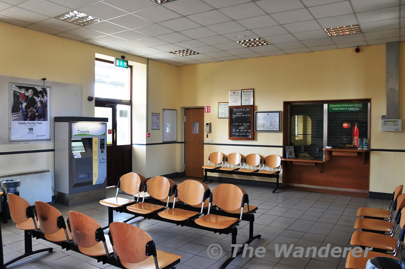 Roscommon Station waiting room. Fri 01.11.13