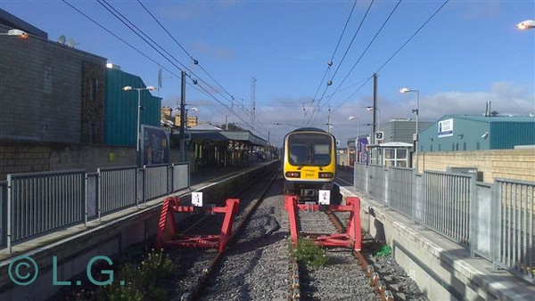 29011 at Howth while on Driver Training Duty. Thurs 17.10.13. Picture courtesy of LG.