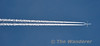 Thomas Cook Airlines Scandinavia A330 Reg. OY-VRK flies over Carn, Co. Laois at 41,000 feet with flight DK1802 from TFS (Tenerife) to ARN (Stockholm). Tues 15.10.13