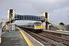 9004 passes Laytown with the 1300 Belfast Central - Dublin Connolly. Sun 20.10.13