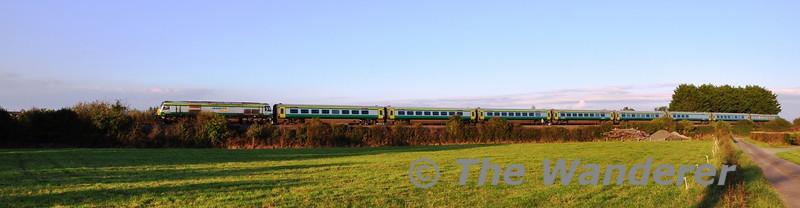 219 1700 Heuston - Cork at Killinure. Mon 14.10.13