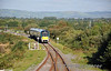 22057 arrives at Farranfore with the 1505 Tralee - Mallow. Fri 11.10.13