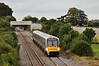 22035 bears down on Carn Bridge with the 1705 Heuston - Tralee. Tues 08.10.13