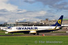 Ryanair EI-DCY takes off from Dublin with FR9177 to Ibiza. Sun 20.10.13