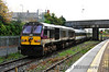 206 propels the 1000 Belfast Central - Dublin Connolly out of Dundalk. Sun 20.10.13