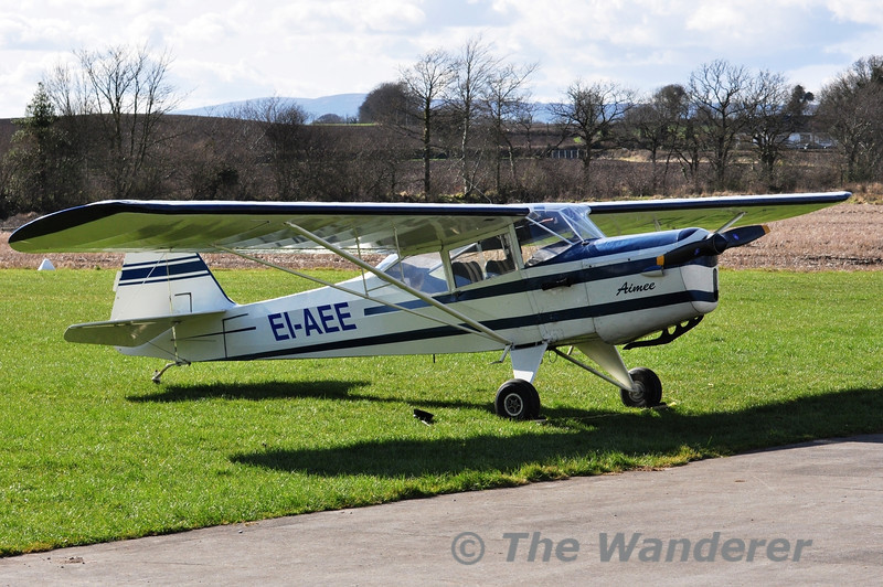 EI-AEE at the Paddy's Weekend Flyin at Limetree Airfield, Co. Laois. Sat 16.03.13