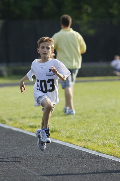Photo by Dan Reichmann, Rockville Youth Running Program
