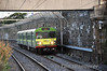 """As part of the <a href=""""http://www.irishrail.ie/cat_news.jsp?i=4918&p=116&n=237"""" target=""""_blank"""">new energy saving fleet utilisation initiatives</a>  from Monday 9th September IE introduced 2 car EMU workings on the DART network. The 2 carriage 8100's operate between the morning and evening peaks and again from about 1830 - 1900 hrs from the City Centre. The first Northbound post evening peak service is the 1810 Bray - Howth and it is pictured arriving at Blackrock with unit 8131. Tues 10.09.13"""