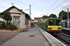 8522 + 8521 depart from Dalkey with the 1830 Malahide - Greystones. Tues 10.09.13