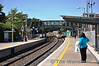 22061 arrives at Portarlington with the 1105 Galway - Heuston. Tues 03.09.13