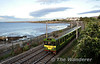 8108 passes Salthill & Monkstown with the 1830 Greystones - Howth. This unit started from Bray at 1845, having replaced a 6 car 8100 formation which had worked in from Greystones. Tues 10.09.13