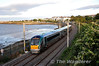 22007 passes Salthill & Monkstown with the 1838 Connolly - Rosslare Europort. Tues 10.09.13