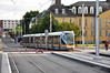 3013 arrives at Heuston Tram Stop with a Saggart - Connolly service. Tues 10.09.13