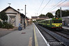 8128 arrives at Dalkey with the 1925 Bray -  Howth. Tues 10.09.13