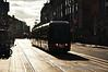 3013 departs Abbey Street Tram Stop. Tues 10.09.13