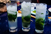 We started making fresh mojitos this summer.