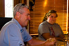 The Woltemates and Stecs met us for dinner in Atlantic City.  Here's Brian and Helen.