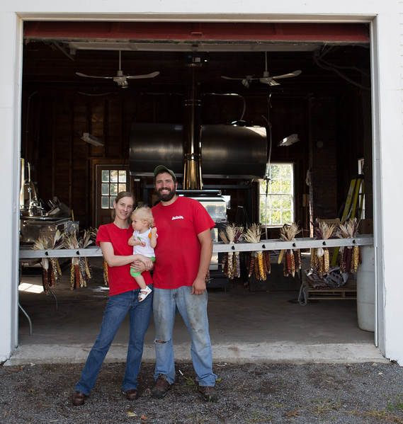 Alison and James Latanzi, Hollis Hills Farm, Fitchburg