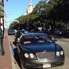 Parking on the street in Savannah Sneed & Anne's 2006 Bentley CFS BB6034704 - Texas