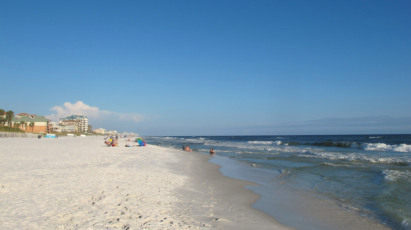 Destin FL Beach.  First stop en route to join the Low Country Tour in Fernandina Beach.