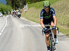 Alejandro Valverde is tarying to bridge across to Busche, but he cannot make it...