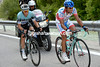 Rodriguez has company along the valley with ex-escapee Serge Pauwels...