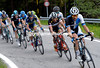 Paul Martens leads an escape that has finally gone away - containing 20 riders...