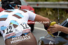Davide Appollonio is not thirsty yet - he wants a banana instead..!