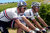 Two famous jersey wearers in Philippe Gilbert and Ian Stannard, discuss life under a hot sun...