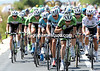Laurens Ten Dam gets the radioed approval from Belkin's management to speed up - get rid of Valverde..!